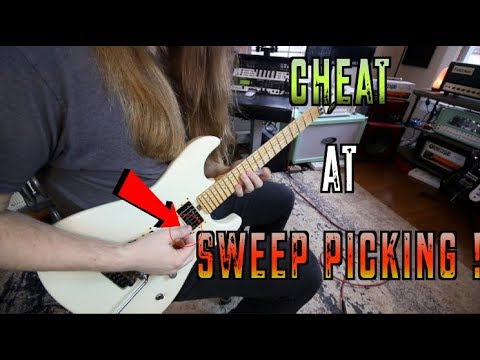 How To Cheat At Sweep Picking!