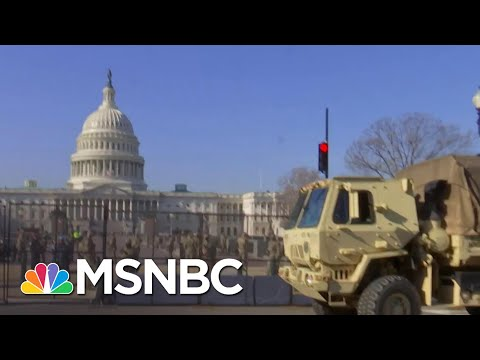 Security Around Capitol Tightens Ahead Of Second Impeachment Vote, Inauguration Day | MSNBC