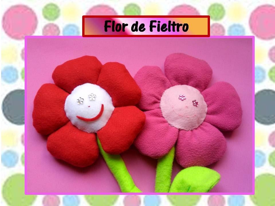 Ideas Para Dia De Las Madres Flor De Fieltro Para Mama