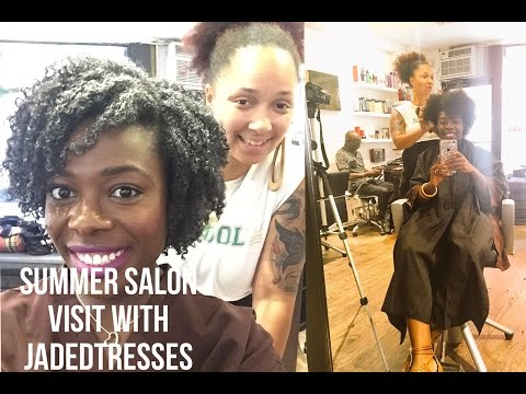Summer Salon Visit To JadedTresses | - JenellBStewart