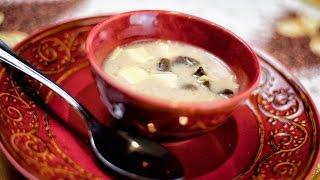 Polish Christmas Mushroom Soup - Swiateczna Zupa Grzybowa - Christmas Recipe # 192
