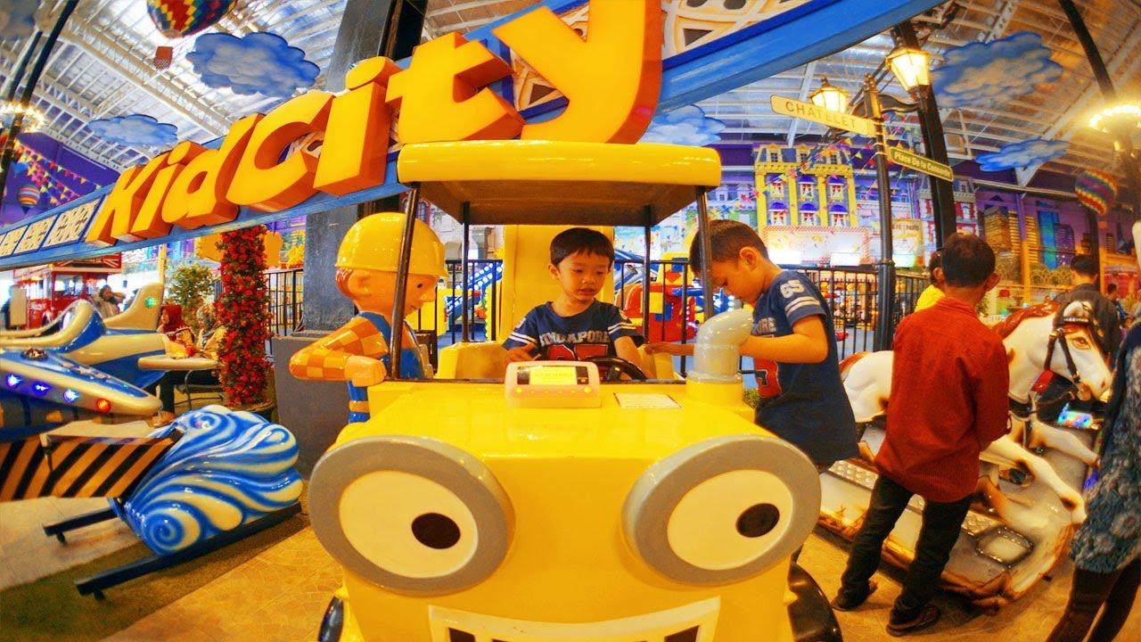 Main Ke Kidcity Tempat Main Anak Terbaru Di Bandung Newest Kids