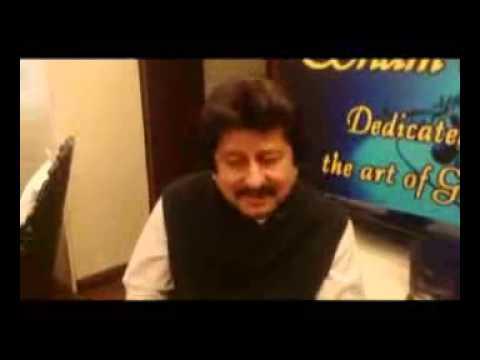 Pankaj Udhas- Interview for Sham e Ghazal