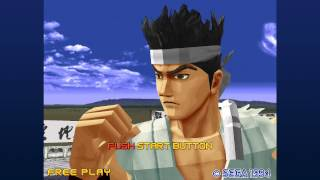 [PS3] Virtua Fighter 2 - Intro 60fps Test