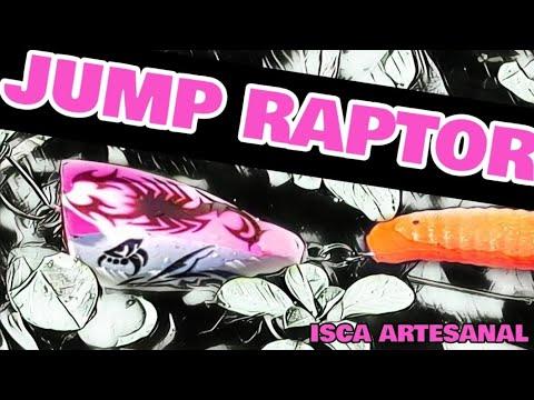 JUMP RAPTOR - UM POPPER COM OFFSET - ISCA GK - PESCARIA DE TRAIRA