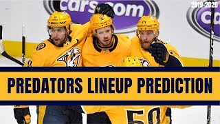 Predicting the Nashville Predators Opening Night Lineup | NHL 2019-20 Season