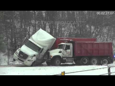 1-20-16 Crossville, TN I-40 Winter Storm