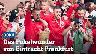Die SGE holt den DFB-Pokal! Vom Abflug der Mannschaft nach Berlin b...