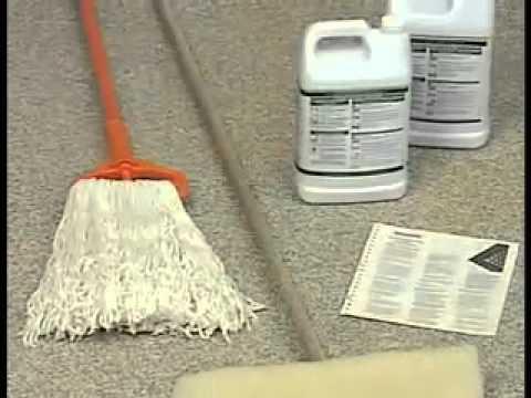 Rubber Flooring Maintenance Video