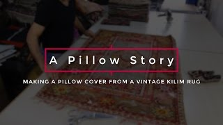 Making A Kilim Pillow Cover(, 2016-10-19T23:49:26.000Z)