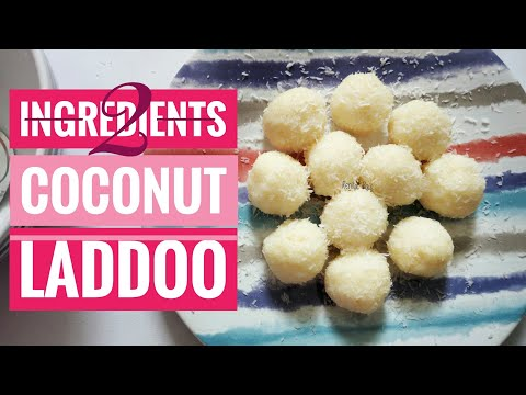2 Ingredients Laddoo, Cooking Without Fire, easy dessert ideas, laddoo in 3 mins