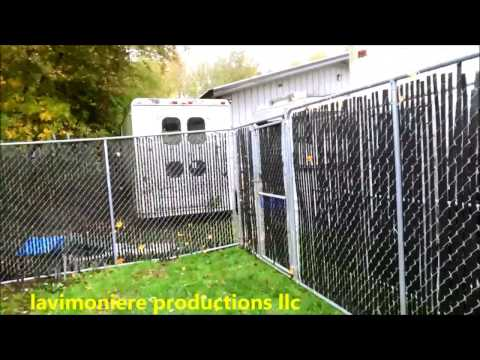 home made chicken coop and run part 1