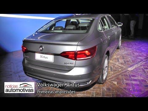 Volkswagen Virtus - Primeiras impressões - NoticiasAutomotivas.com.br