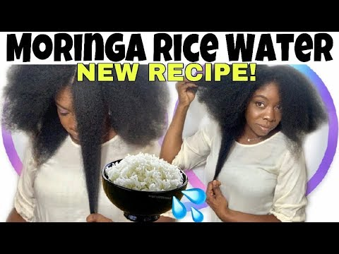 Download NEW MORINGA RICE WATER SUPER HAIR GROWTH TREATMENT RECIPE & HOW TO