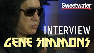 Gene Simmons Interviewed by Sweetwater