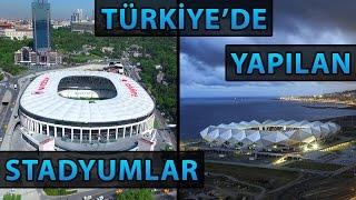 Türkiye'de Yeni Yapılacak ve Biten Stadyumlar