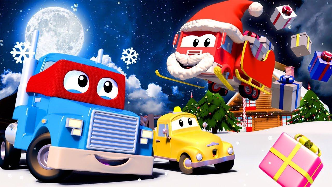 Video Giáng Sinh dành cho thiếu nhi - PHIM HOẠT HÌNH VỀ XE TẢI VÀ XE HƠI DÀNH CHO THIẾU NHI