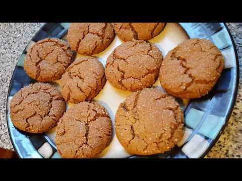Ginger Molasses Cookies - Recipe