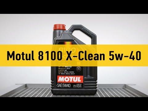 Motul 8100 X-Clean 5w-40 - видеообзор от автосервиса Oiler
