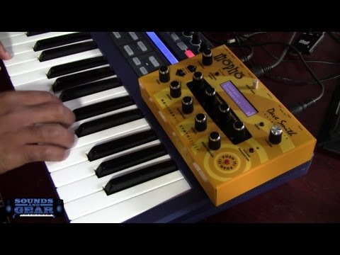 Dave Smith Mopho analog synthesizer review - SoundsAndGear