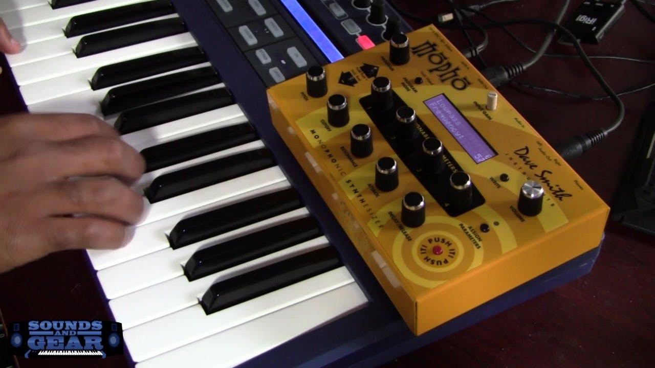 dave smith mopho analog synthesizer review soundsandgear youtube