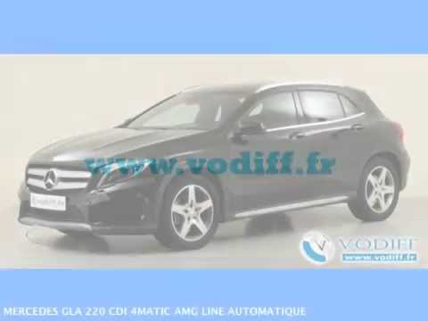 vodiff mercedes occasion alsace mercedes gla 220 cdi 4matic amg line automatique youtube. Black Bedroom Furniture Sets. Home Design Ideas
