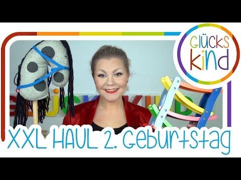 Geschenke zum 2. Geburtstag | XXL HAUL | Weihnachtsgeschenk Ideen | Das Glückskind