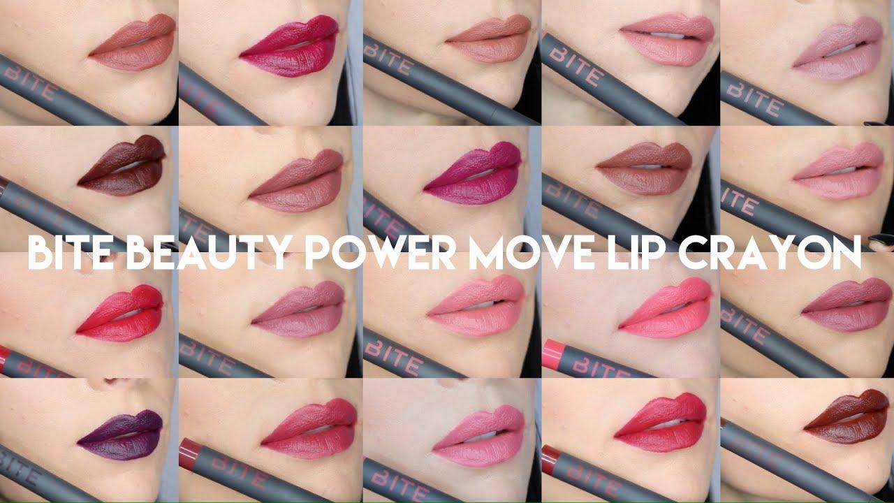 Matte Creme Lip Crayon Set by BITE Beauty #5