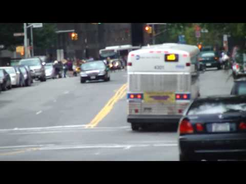 NYCTA : MCI D4500CL 4301 On The X15 @ Pearl Street