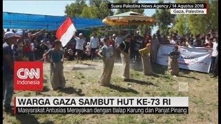 Download Video Warga Gaza Sambut HUT ke-73 RI MP3 3GP MP4