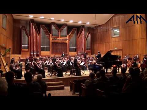 F. Liszt Piano Concerto in E flat major S. 124, played by Anna Lipiak (conducted by M. Dworzyński)
