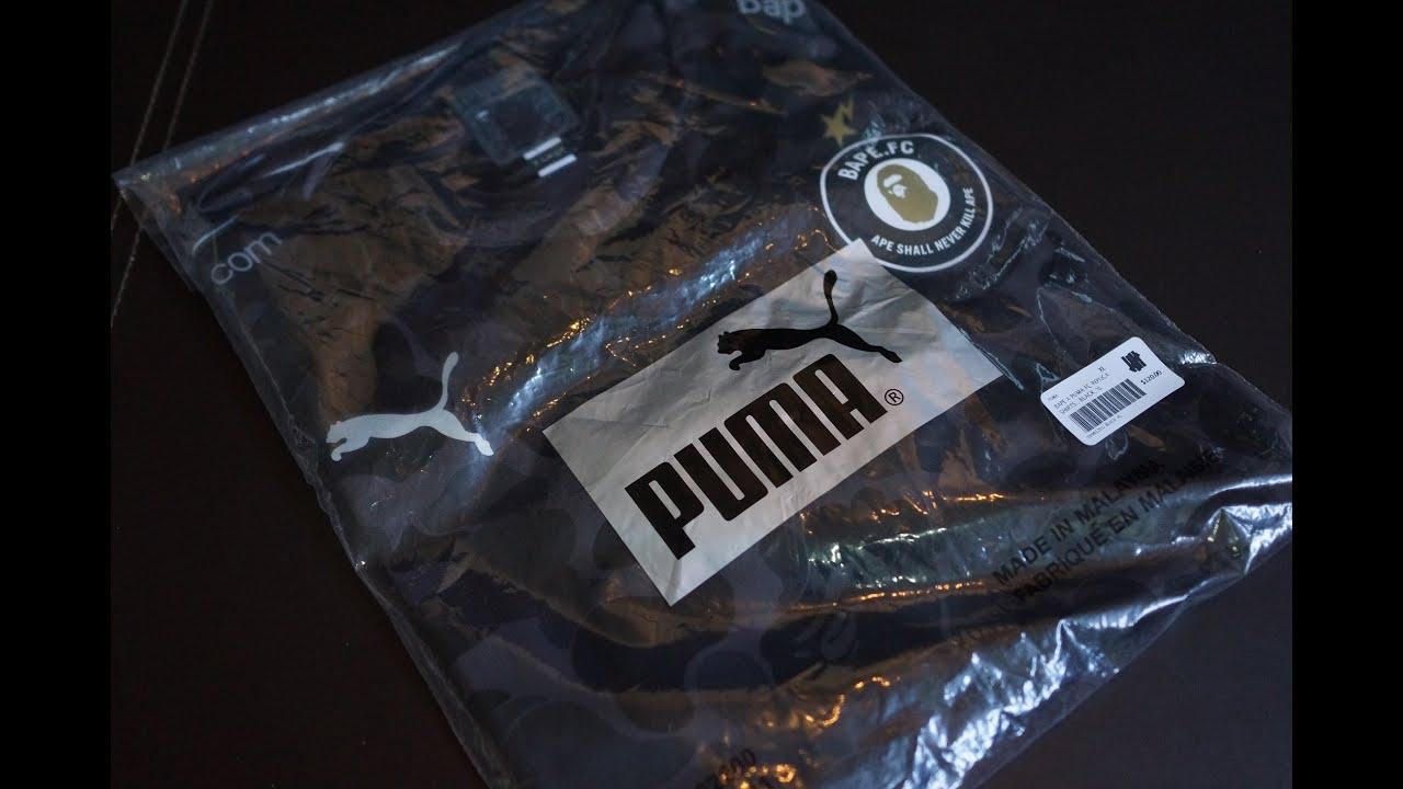 Ape X Fc Black Bathing Camo Puma Jersey Replica bape Soccer 1dFqwqf7