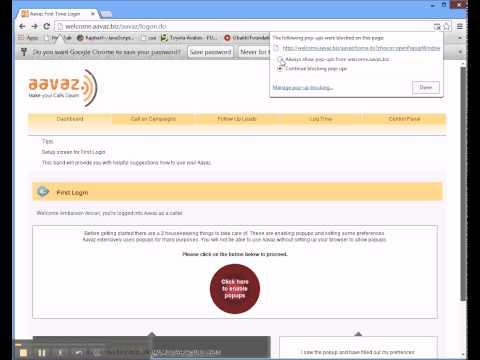 Chrome First Login Screen Use