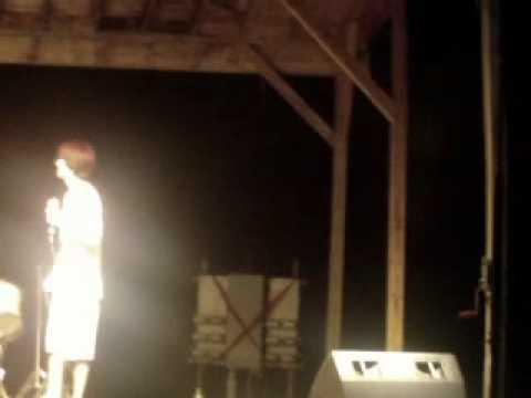 Phillip McCoy singing at RELAY FOR LIFE (Ashland City, TN)