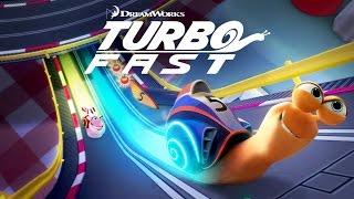 Turbo FAST. Крутые гонки УЛИТОК! Обзор игры, детское видео, игровой мультик, le'ts play.