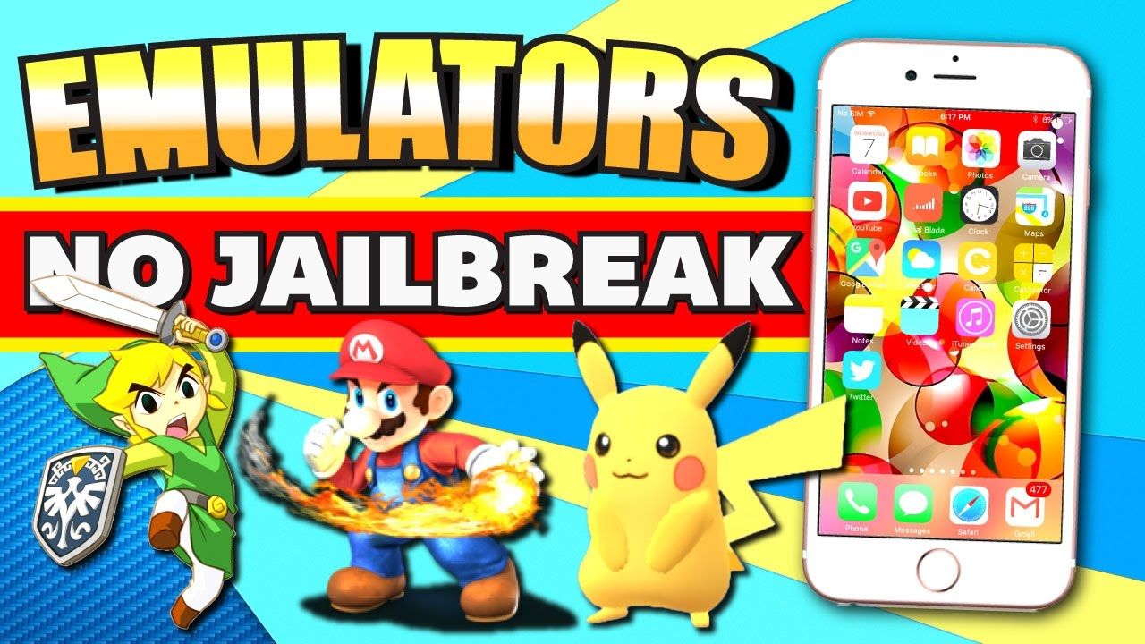 iOS 10/9: Play NDS, PSP, SNES, N64, GBA, & Playstation Games on iPhone,  iPad, iPod (NO JAILBREAK)