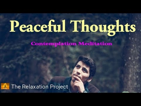 Peaceful Contemplation, Mindfulness Music, Spiritual Relaxation Meditation, Sleep Music