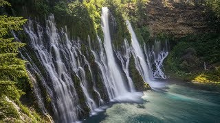 Repeat youtube video Northern Ca. Watershed Series-Burney Falls