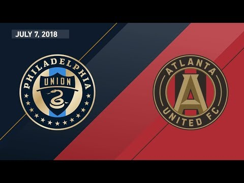 HIGHLIGHTS: Philadelphia Union Vs. Atlanta United FC | July 7, 2018