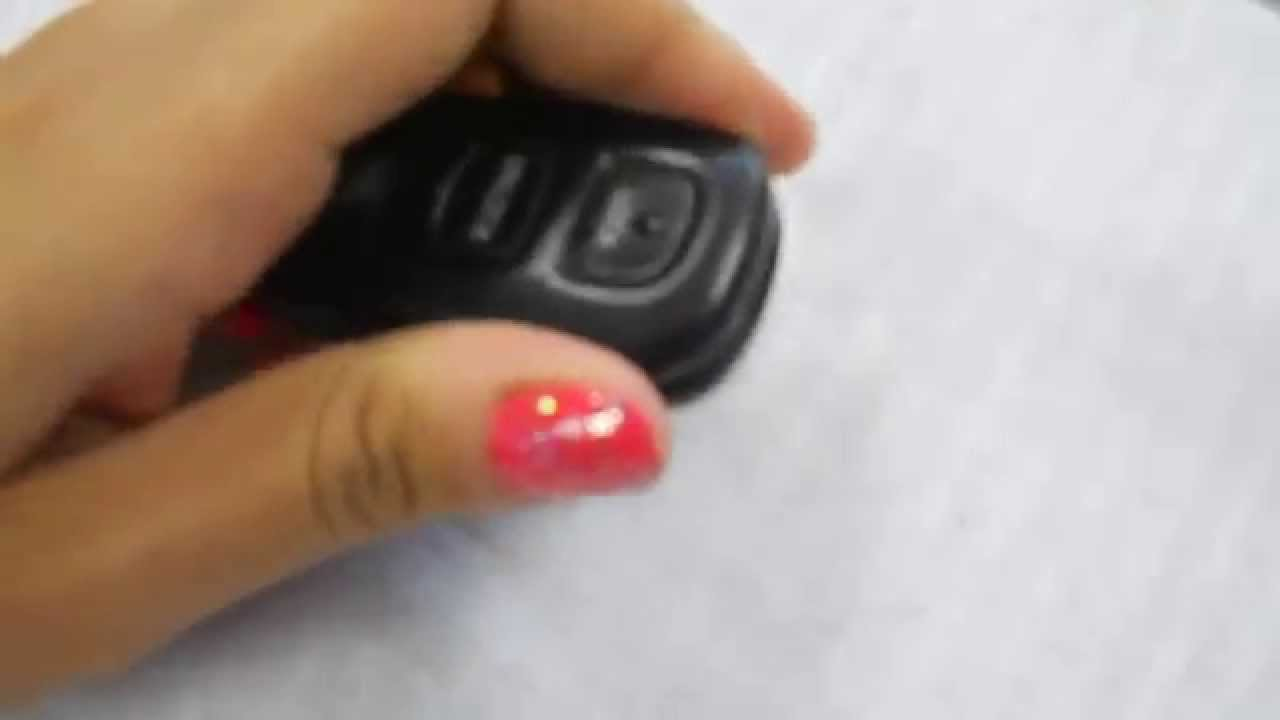 how to replace toyota 4runner key fob battery 2003 2004 youtube. Black Bedroom Furniture Sets. Home Design Ideas