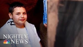 Boy Who Fell Into LA Sewer Found Alive | NBC Nightly News