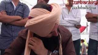 Repeat youtube video ☬ ਦਸਤਾਰ ☬Turban - Turban Tying with Single Hand -  How to Tie Turban