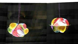 3D Christmas decoration  Ornaments-6 | 3D Christmas Decor| DIY| Home Decor idea|Diwali Decoration|