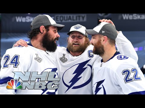 NHL Stanley Cup Final 2020: Tampa Bay Lightning celebrate, react to Stanley Cup win | NBC Sports