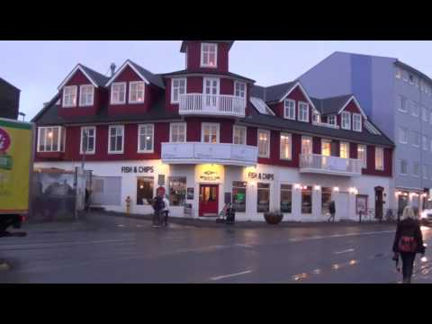 Reykjavik - Walk to the Harbour from Hotel - Shops and Pubs - Iceland