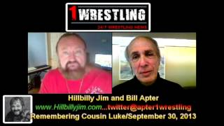 EXCLUSIVE: HILLBILLY JIM REMEMBERS COUSIN LUKE @ THE APTER CHAT