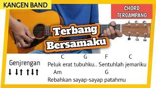 Download lagu Chord Gampang TERBANG BERSAMAKU - KANGEN BAND | Tutorial Gitar Mudah di Mengerti Pemula
