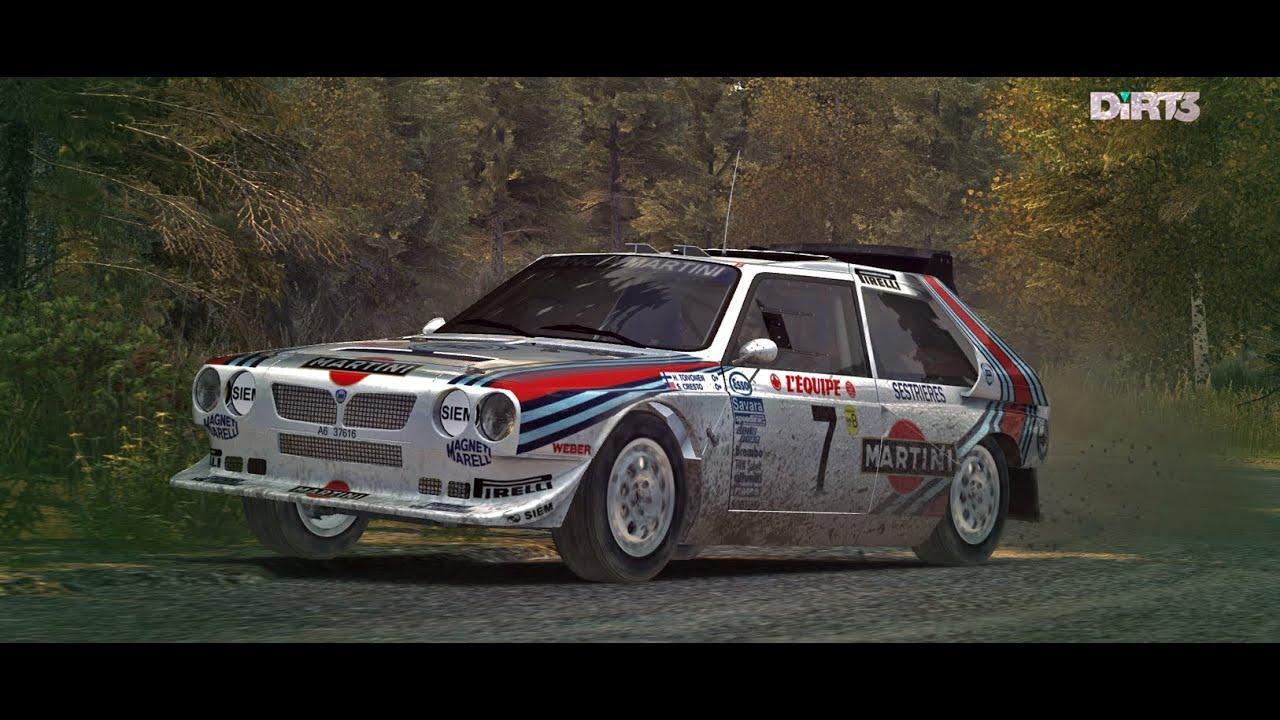 dirt 3 martini racing lancia delta s4 rally finland. Black Bedroom Furniture Sets. Home Design Ideas