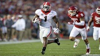 2018 Rose Bowl Thriller  Georgia vs Oklahoma  Highlights