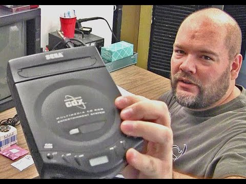 Sega Genesis CDX - trouble shooting - laser adj caps etc